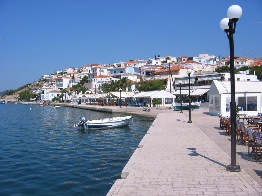 The south port, Mandrakia